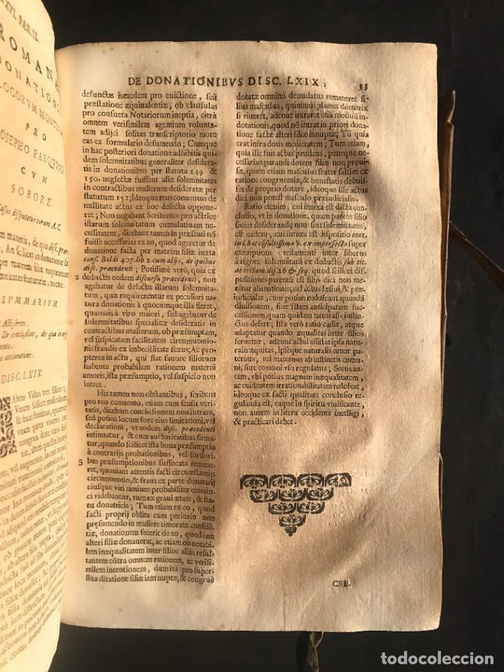 Libros antiguos: 1671 - THEATRUM VERITATIS ET IUSTITIAE - JUAN BAUTISTA DE LUCA - DERECHO - PERGAMINO - Foto 31 - 233575875