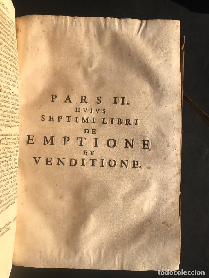 Libros antiguos: 1671 - THEATRUM VERITATIS ET IUSTITIAE - JUAN BAUTISTA DE LUCA - DERECHO - PERGAMINO - Foto 32 - 233575875