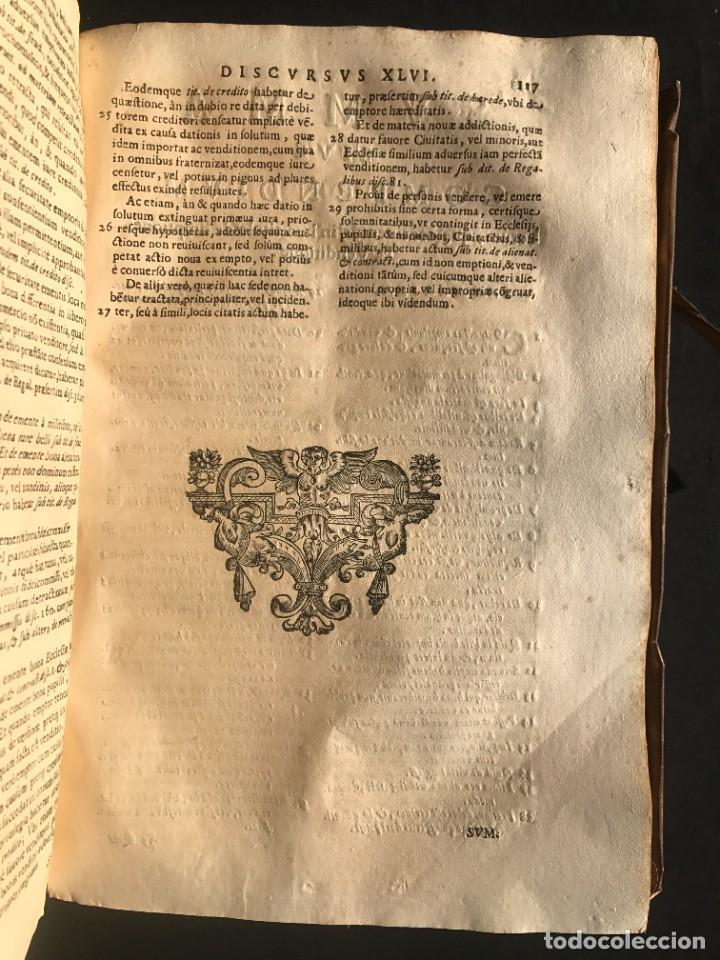Libros antiguos: 1671 - THEATRUM VERITATIS ET IUSTITIAE - JUAN BAUTISTA DE LUCA - DERECHO - PERGAMINO - Foto 34 - 233575875