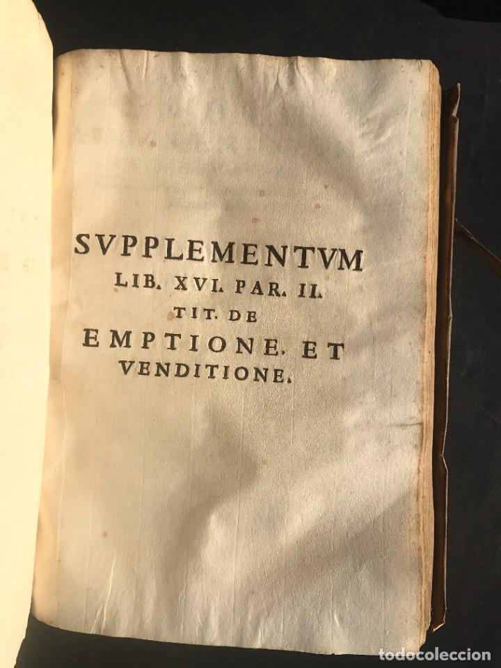 Libros antiguos: 1671 - THEATRUM VERITATIS ET IUSTITIAE - JUAN BAUTISTA DE LUCA - DERECHO - PERGAMINO - Foto 35 - 233575875