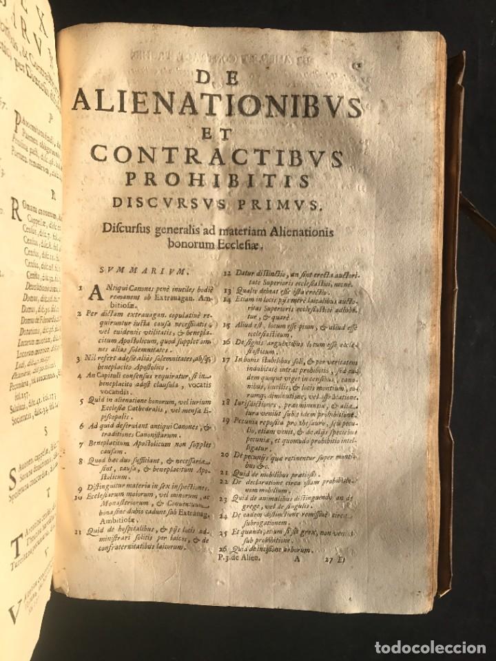 Libros antiguos: 1671 - THEATRUM VERITATIS ET IUSTITIAE - JUAN BAUTISTA DE LUCA - DERECHO - PERGAMINO - Foto 36 - 233575875