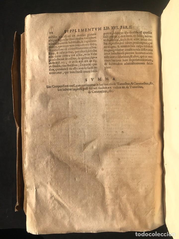 Libros antiguos: 1671 - THEATRUM VERITATIS ET IUSTITIAE - JUAN BAUTISTA DE LUCA - DERECHO - PERGAMINO - Foto 40 - 233575875