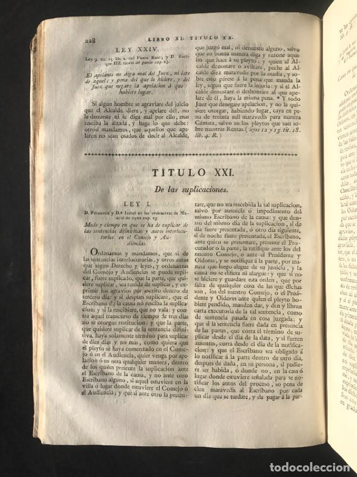 Libros antiguos: 1805 NOVISIMA RECOPILACION DE LAS LEYES DE ESPAÑA mandada por Carlos IV - pergamino Tomos IV y V. - Foto 18 - 233600770