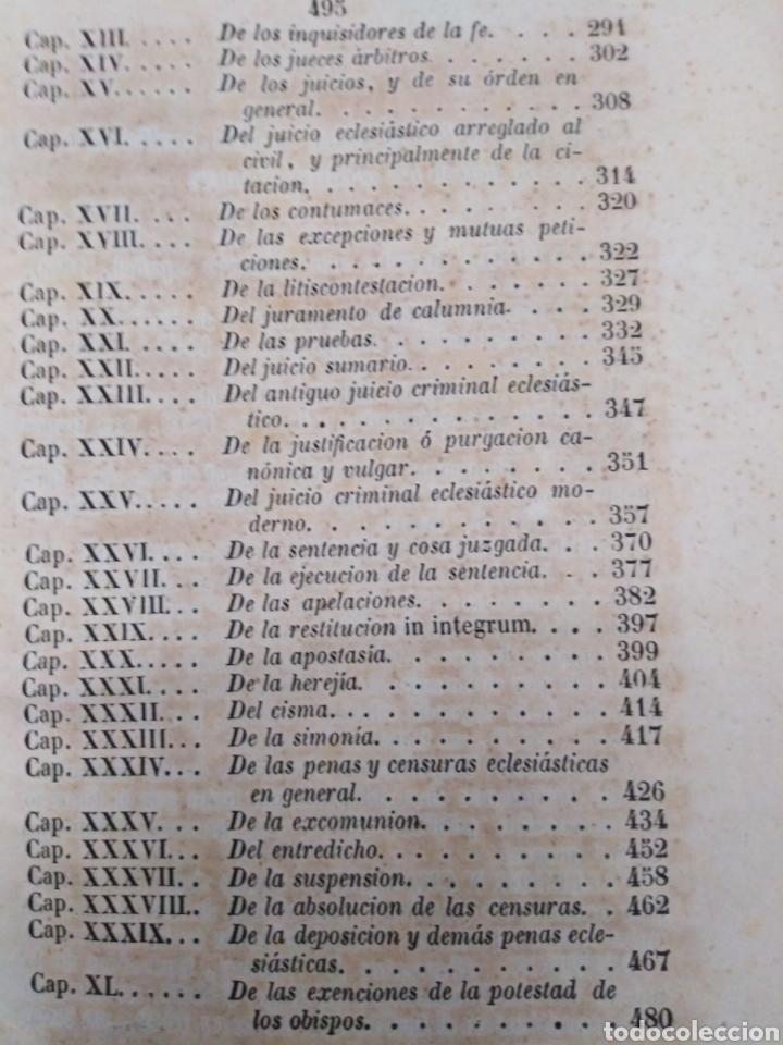Libros antiguos: INSTITUCIONES DEL DERECHO CANÓNICO-DOMINGO CAVALLARIO-TOMO II-LIBRERÍA CALLEJA 1850-MIRAR FOTOS - Foto 7 - 235424340