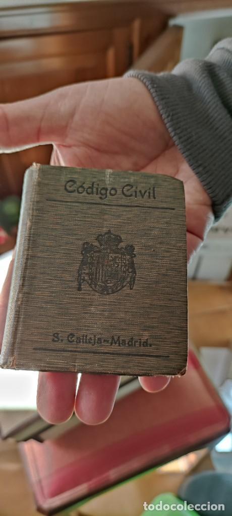CODIGO CIVIL (Libros Antiguos, Raros y Curiosos - Ciencias, Manuales y Oficios - Derecho, Economía y Comercio)