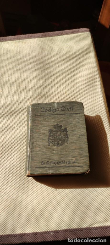 Libros antiguos: Codigo civil - Foto 3 - 235559330