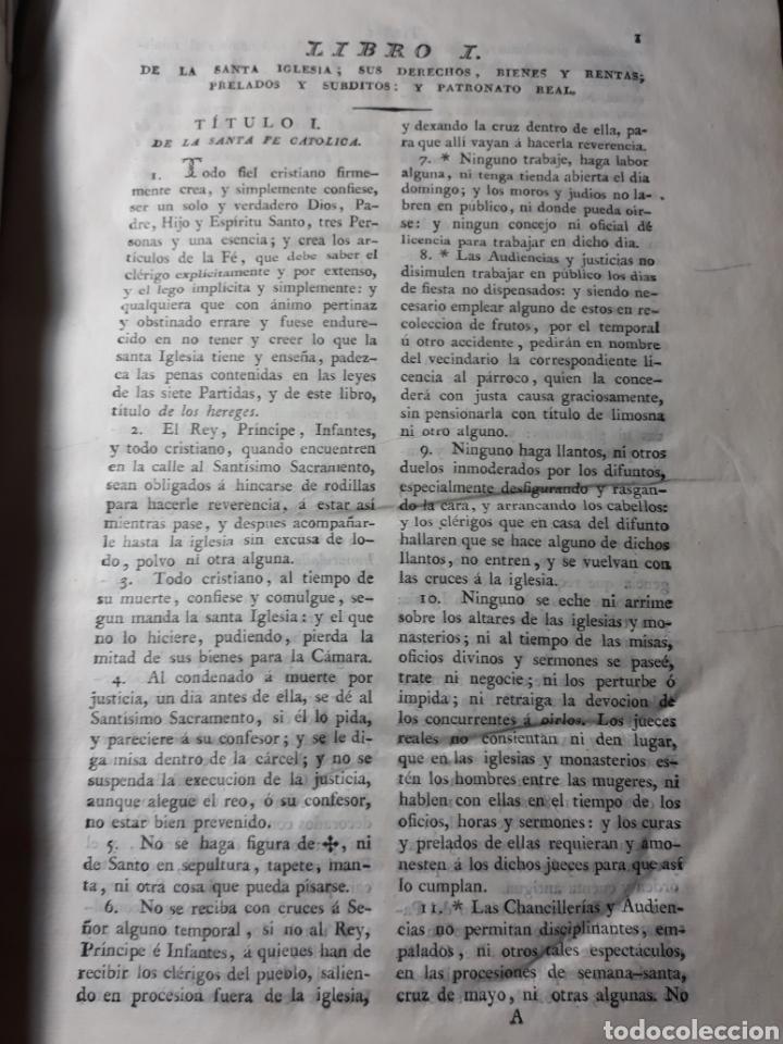 Libros antiguos: EXTRACTO DE LA NOVÍSIMA RECOPILACIÓN DE LEYES DE ESPAÑA.JUAN DE LA REGUERA VALDELOMAR .IMPRENTA 1815 - Foto 6 - 235631270