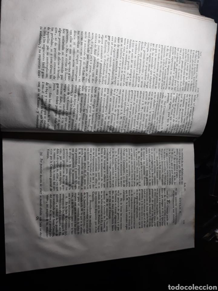 Libros antiguos: EXTRACTO DE LA NOVÍSIMA RECOPILACIÓN DE LEYES DE ESPAÑA.JUAN DE LA REGUERA VALDELOMAR .IMPRENTA 1815 - Foto 7 - 235631270