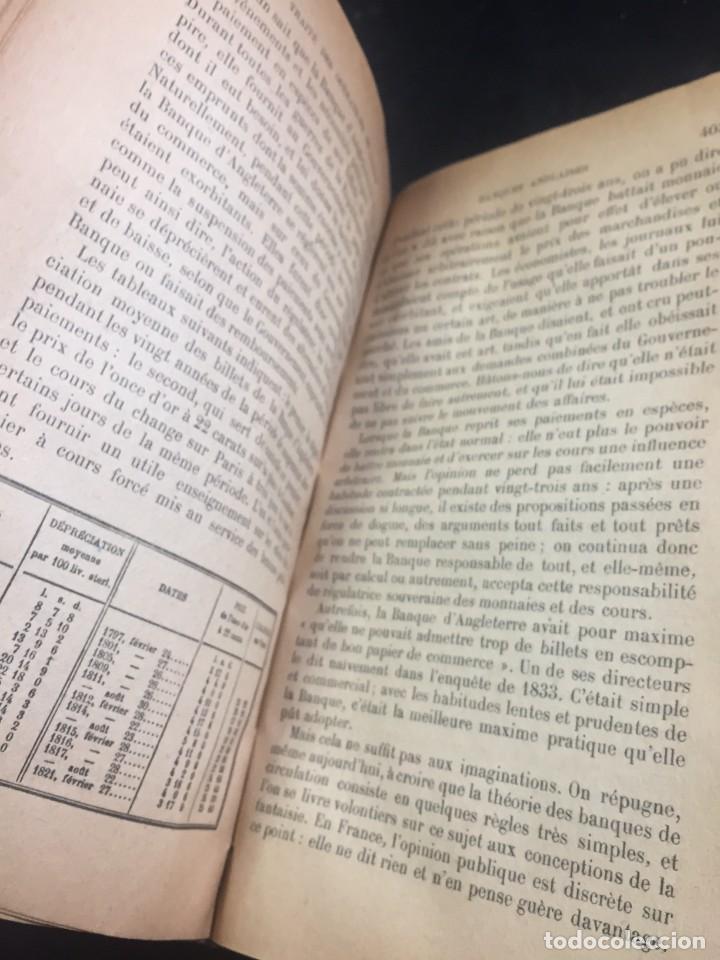 Libros antiguos: Les Opérations De Banque. COURCELLE-SENEUIL. Félix Alcan, Paris, 1920. en francés. - Foto 3 - 235633515