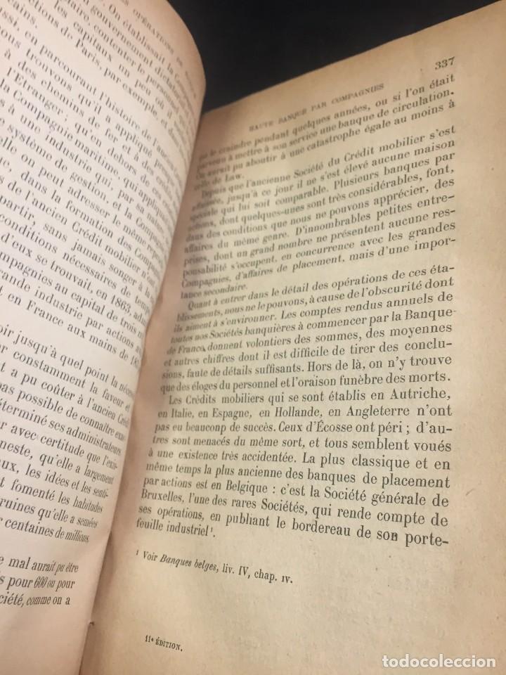 Libros antiguos: Les Opérations De Banque. COURCELLE-SENEUIL. Félix Alcan, Paris, 1920. en francés. - Foto 4 - 235633515