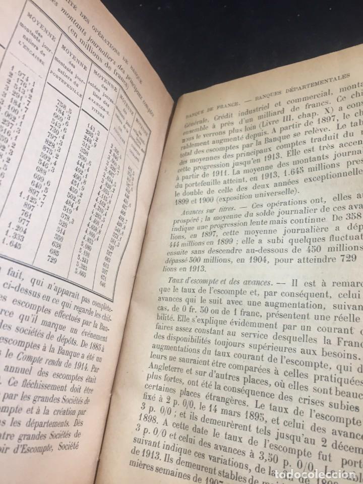 Libros antiguos: Les Opérations De Banque. COURCELLE-SENEUIL. Félix Alcan, Paris, 1920. en francés. - Foto 5 - 235633515