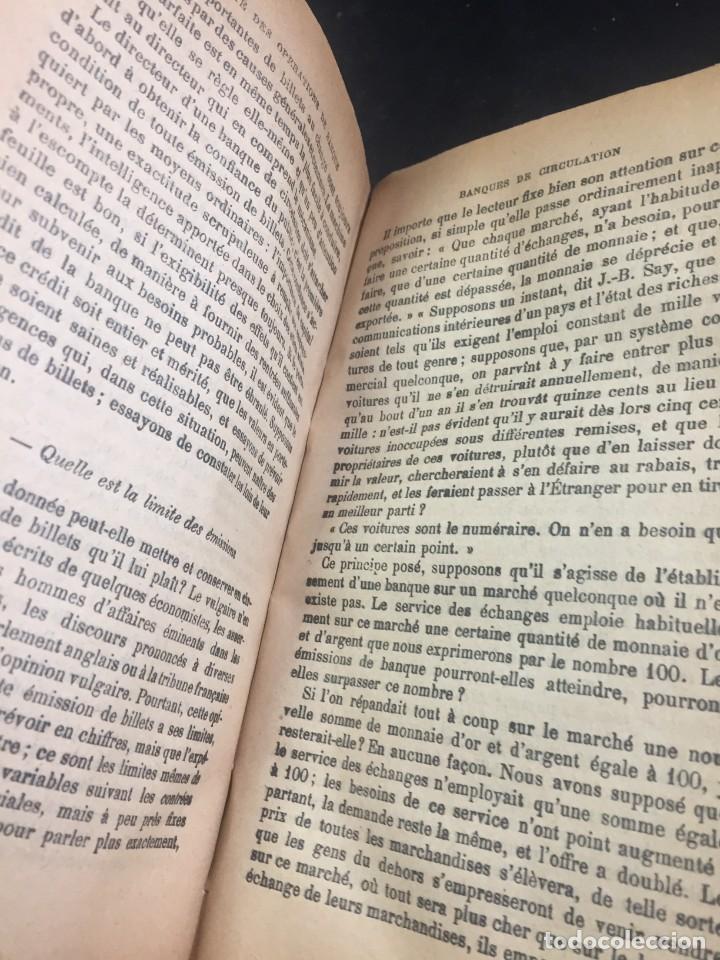 Libros antiguos: Les Opérations De Banque. COURCELLE-SENEUIL. Félix Alcan, Paris, 1920. en francés. - Foto 6 - 235633515