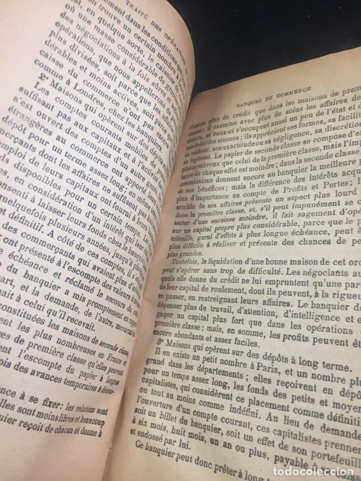Libros antiguos: Les Opérations De Banque. COURCELLE-SENEUIL. Félix Alcan, Paris, 1920. en francés. - Foto 7 - 235633515