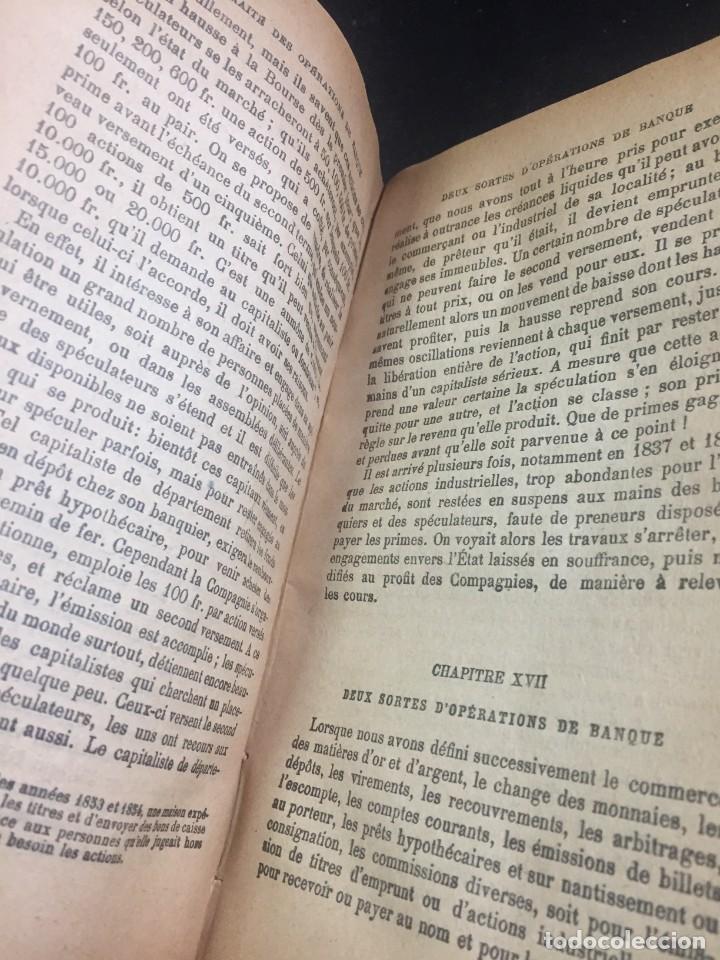Libros antiguos: Les Opérations De Banque. COURCELLE-SENEUIL. Félix Alcan, Paris, 1920. en francés. - Foto 8 - 235633515