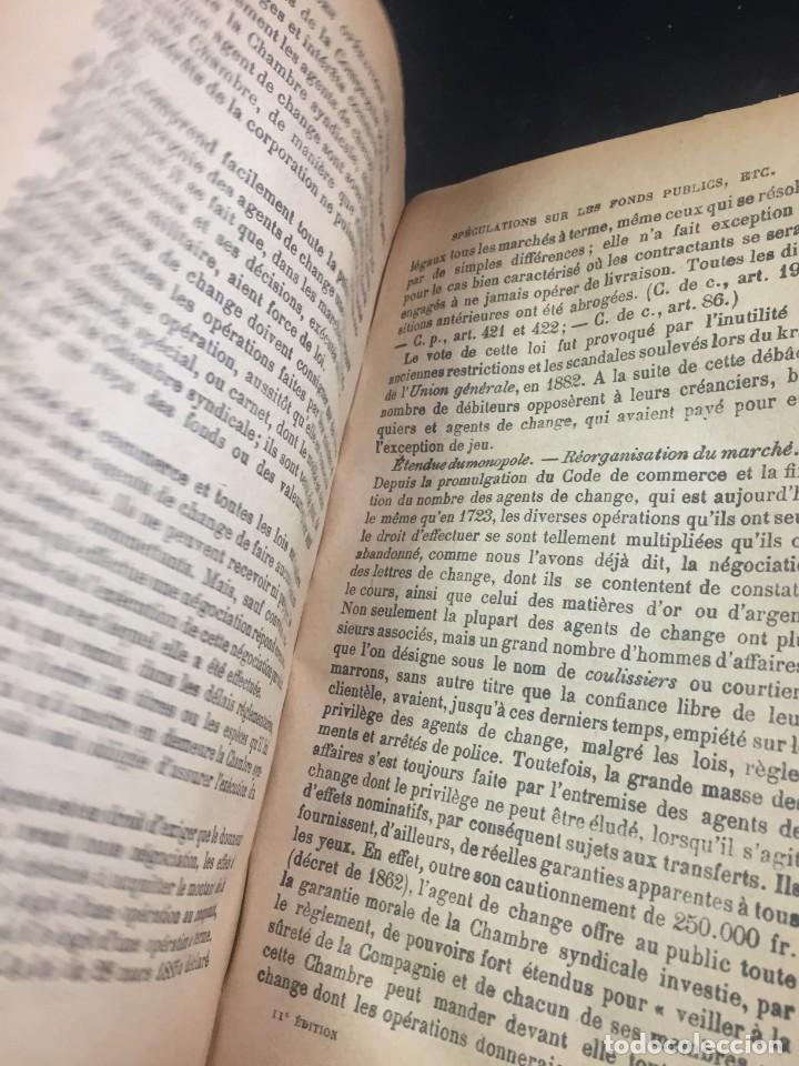 Libros antiguos: Les Opérations De Banque. COURCELLE-SENEUIL. Félix Alcan, Paris, 1920. en francés. - Foto 10 - 235633515