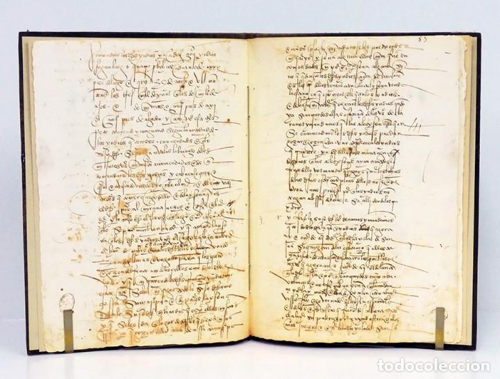 Libros antiguos: LEYES de Burgos de 1512 y Valladolid 1513. Facsímil. Edición especial de 50 ejemplares. 2 tomos - Foto 3 - 236309140