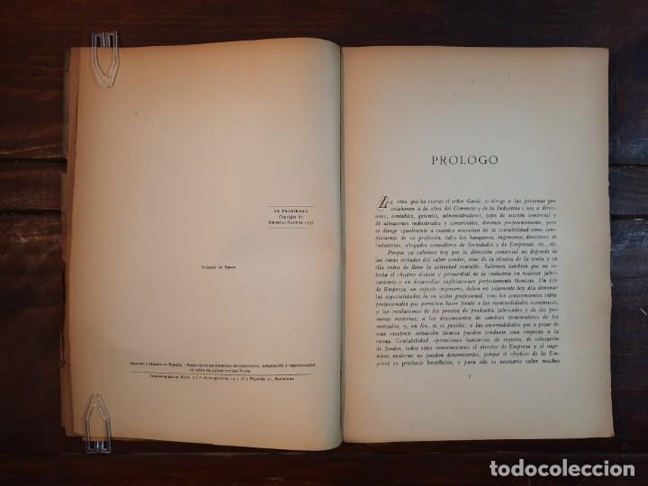 Libros antiguos: SINTESIS CONTABLE - JOSE GARDO - EDITORIAL CULTURA, 1932, BARCELONA - Foto 5 - 236324325