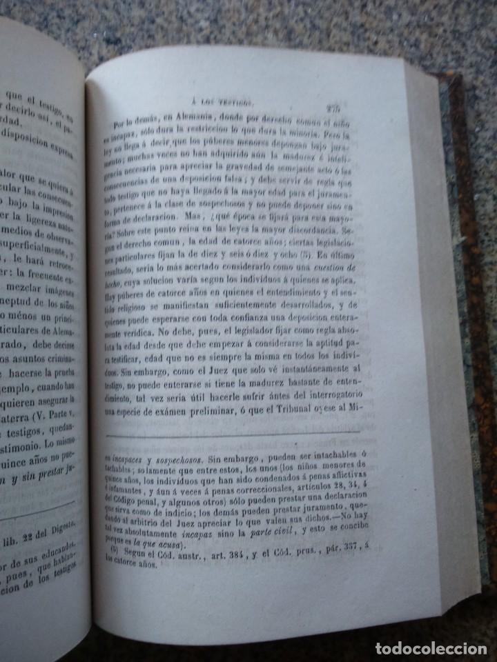 Libros antiguos: TRATADO DE LA PRUEBA EN MATERIA CRIMINAL O EXPOSICION COMPARADA -- MITTERMAIER -- 1877 -- - Foto 2 - 236325840