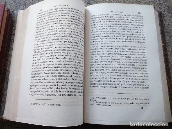 Libros antiguos: TRATADO DE LA PRUEBA EN MATERIA CRIMINAL O EXPOSICION COMPARADA -- MITTERMAIER -- 1877 -- - Foto 3 - 236325840