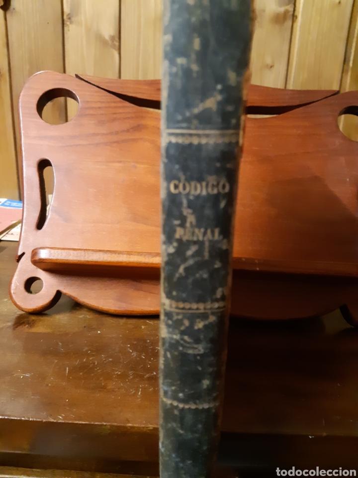 Libros antiguos: Comentarios al código penal reformado 1870 - Foto 2 - 236401355