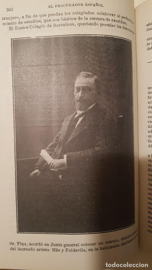 Libros antiguos: EL PROCURADOR ESPAÑOL. REVISTA JURIDICA. AÑO 1919. Organo Científico-Profesional de los Procuradores - Foto 15 - 237181355
