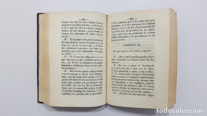 Libros antiguos: MANUAL DE LOS JUICIOS DE INVENTARIO Y PARTICIÓN DE HERENCIAS. EUGENIO DE TAPIA. 1856 - Foto 4 - 237473520