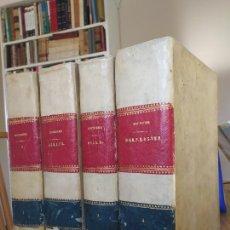 Livros antigos: OBRA COMPLETA, DICCIONARIO RAZONADO DE LEGISLACION, ESCRICHE. EDICION DE RICARDO CUESTA, 1874. RARO. Lote 237669500