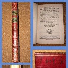 Libros antiguos: JOAQUIN IBARRA - DIGESTO TEÓRICO-PRÁCTICO - AGUSTIN RODRIGUEZ FONSECA - AÑO 1775. Lote 239922940