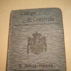 Libros antiguos: CÓDIGO DE COMERCIO BIBLIOTECA DE DERECHO SATURNINO CALLEJA. Lote 240588595