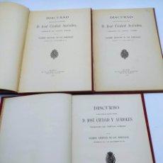 Libros antiguos: 11 DISCURSOS APERTURA TRIBUNALES 1918-1944. Lote 242105265