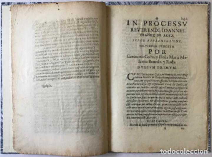 Libros antiguos: POR LOS ILUSTRISSIMOS SEÑORES MARQUES DE COSCOJUELA, MARQUESA DE SAN FELICES, Y VARONESSA DE... - Foto 4 - 243536930