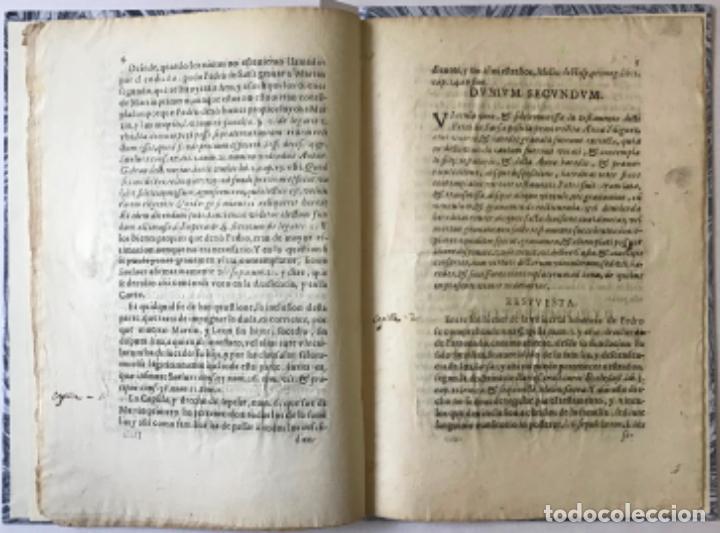Libros antiguos: POR LOS ILUSTRISSIMOS SEÑORES MARQUES DE COSCOJUELA, MARQUESA DE SAN FELICES, Y VARONESSA DE... - Foto 5 - 243536930