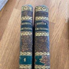 Libros antiguos: 2 TOMOS RECITACIONES DEL DERECHO CIVIL (I-II) - J. HEINECIO - 1841. Lote 243780160
