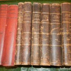 Libros antiguos: REVISTA ADUANERA Y TRIBUTARIA - DIRECTOR D.BLAS VIVES 1929-1935 (8 VOLS.) - MUY RARA. Lote 245022450
