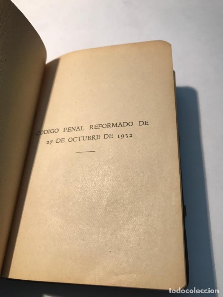 Libros antiguos: Codigo Penal Dr Eugenio Cuello Calon Primera Edicion 1935 - Foto 3 - 245739680