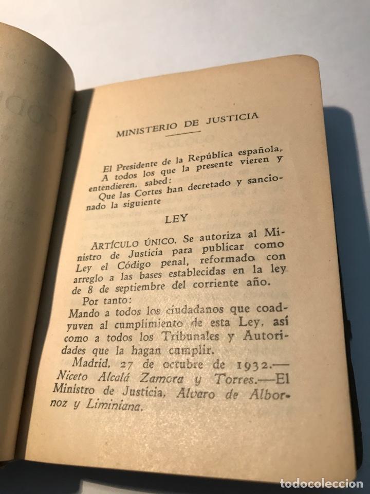 Libros antiguos: Codigo Penal Dr Eugenio Cuello Calon Primera Edicion 1935 - Foto 5 - 245739680
