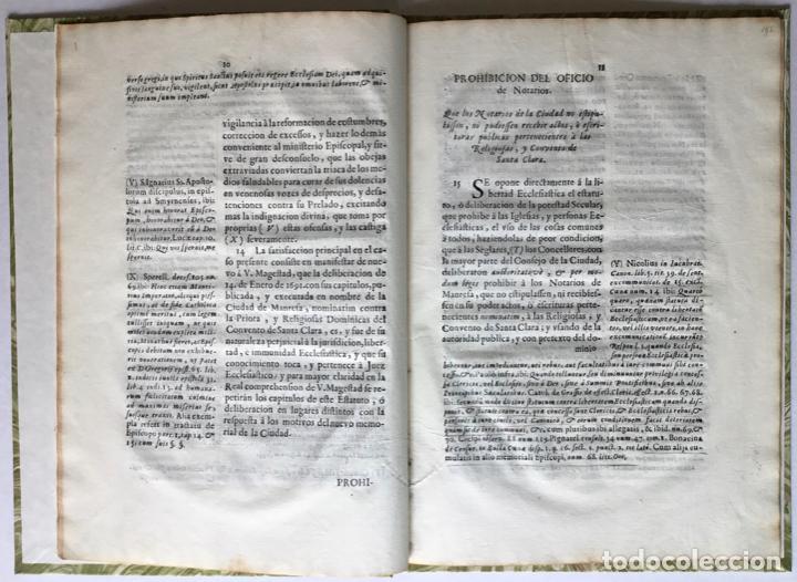 Libros antiguos: SEÑOR. EL OBISPO DE VIQUE IMPLORA DE NUEVOSOBERANA PROTECCION A V. MAGESTAD en defensa de la... - Foto 3 - 245779660