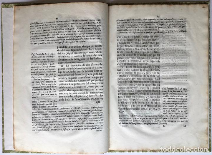 Libros antiguos: SEÑOR. EL OBISPO DE VIQUE IMPLORA DE NUEVOSOBERANA PROTECCION A V. MAGESTAD en defensa de la... - Foto 4 - 245779660