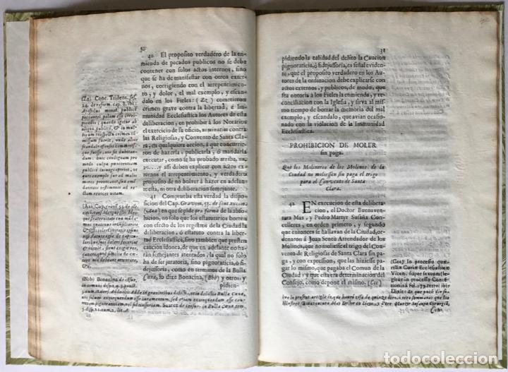 Libros antiguos: SEÑOR. EL OBISPO DE VIQUE IMPLORA DE NUEVOSOBERANA PROTECCION A V. MAGESTAD en defensa de la... - Foto 5 - 245779660