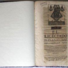 Libros antiguos: POR EL LICE[N]CIADO D. JUAN MUÑOZ DEL CASTILLO, PRESBITERO, POR SI, Y LOS DEMAS SACERDOTES.... Lote 245780345
