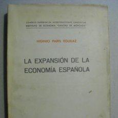 Libros antiguos: DOS TRATADOS SOBRE LA ECONOMÍA ESPAÑOLA DE POSTGUERRA. Lote 246105300