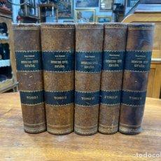 Libros antiguos: TRATADO DEL DERECHO CIVIL ESPAÑOL- 1920/1921 SEGUNDA EDICIÓN - 5TOMOS- CALIXTO VALVERDE Y VALVERDE. Lote 246233695