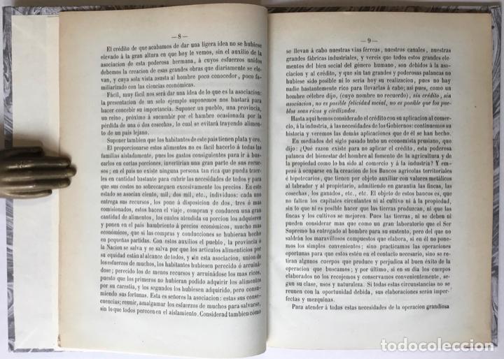 Libros antiguos: CUATRO PALABRAS SOBRE LA NECESIDAD DE ESTABLECER UN BANCO GENERAL DE CRÉDITO EN GRANADA... - Foto 2 - 246440480