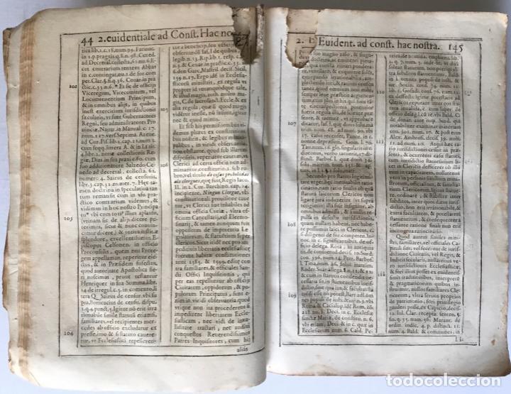 Libros antiguos: COMMENTARIUS ANALYTICUS AD CONSTITUTIONEM EX INSIGNIORIBUS PRINCIPATUS CATHALONIAE... 1629 - Foto 3 - 246480220