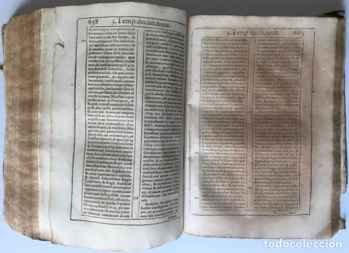 Libros antiguos: COMMENTARIUS ANALYTICUS AD CONSTITUTIONEM EX INSIGNIORIBUS PRINCIPATUS CATHALONIAE... 1629 - Foto 7 - 246480220