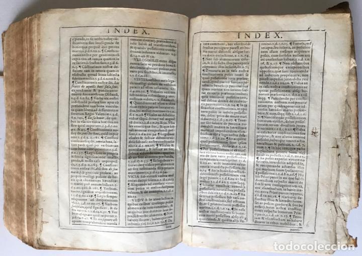 Libros antiguos: COMMENTARIUS ANALYTICUS AD CONSTITUTIONEM EX INSIGNIORIBUS PRINCIPATUS CATHALONIAE... 1629 - Foto 8 - 246480220