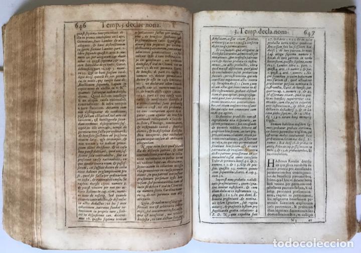 Libros antiguos: COMMENTARIUS ANALYTICUS AD CONSTITUTIONEM EX INSIGNIORIBUS PRINCIPATUS CATHALONIAE... 1629 - Foto 9 - 246480220