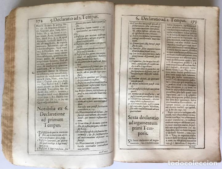 Libros antiguos: COMMENTARIUS ANALYTICUS AD CONSTITUTIONEM EX INSIGNIORIBUS PRINCIPATUS CATHALONIAE... 1629 - Foto 11 - 246480220