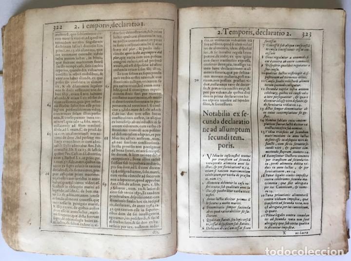 Libros antiguos: COMMENTARIUS ANALYTICUS AD CONSTITUTIONEM EX INSIGNIORIBUS PRINCIPATUS CATHALONIAE... 1629 - Foto 13 - 246480220
