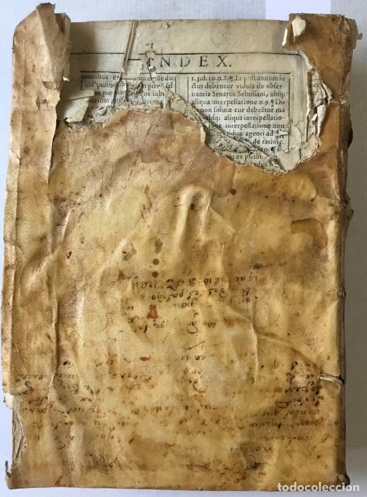 Libros antiguos: COMMENTARIUS ANALYTICUS AD CONSTITUTIONEM EX INSIGNIORIBUS PRINCIPATUS CATHALONIAE... 1629 - Foto 17 - 246480220